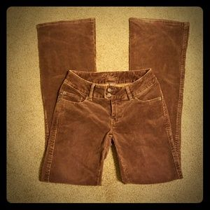 Silver Jeans Brown Corduroys